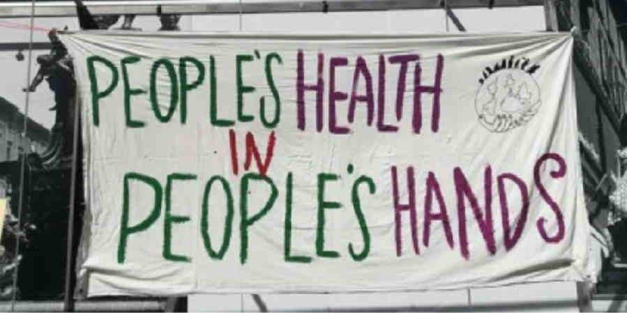 LA SALUD DEL PUEBLO, EN MANOS DEL PUEBLO, MOVIMIENTO DE SALUD DE LOS PUEBLOS https://iahponline.wordpress.com/2020/10/15/urgent-call-for-action-on-covid-19-technologies-statement-by-peoples-health-movement/